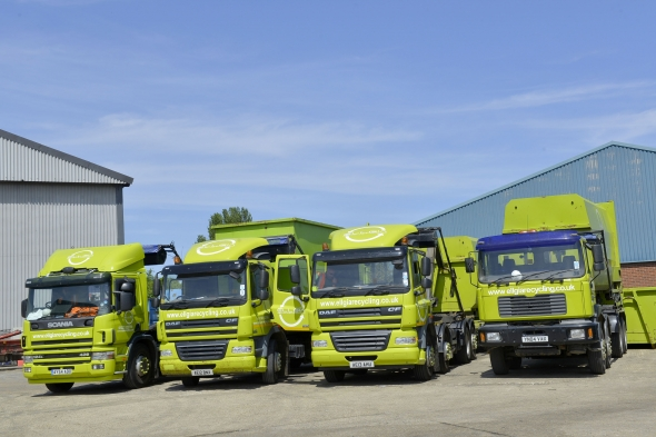 Ellgia Recycling uses innovative technology to achieve significant