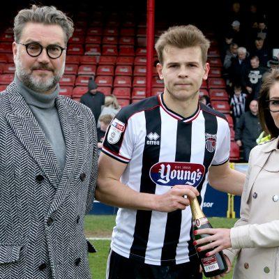 Grimsby Man of Match
