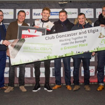 Doncaster Rovers and Ellgia Seen to be Green